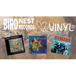 Birdnest Hjärta Vinyl IV - All three albums (gatefold)