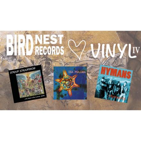 Birdnest Hjärta Vinyl IV - all six editions